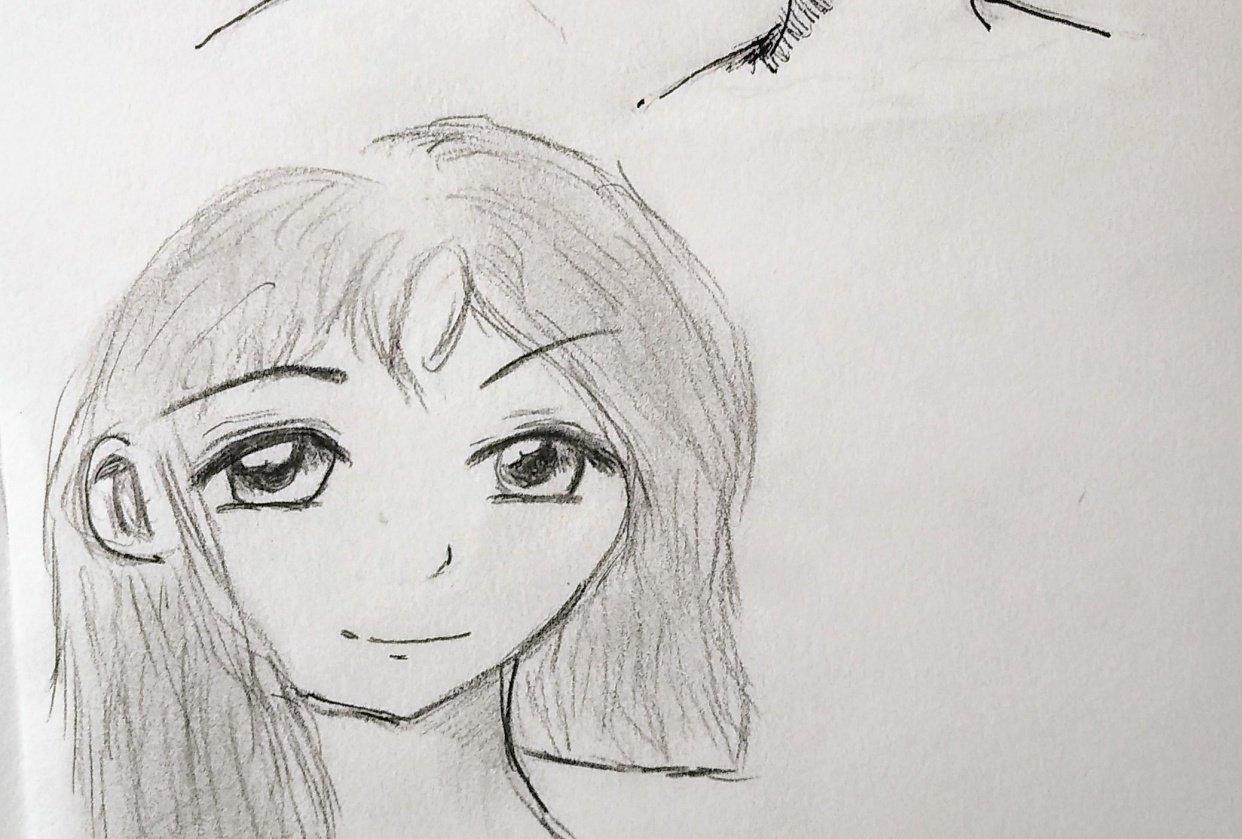 Manga-Styled Portrait - student project
