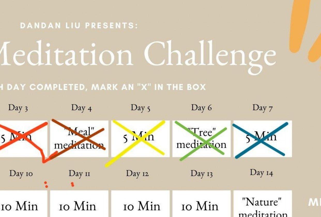 Meditation Challenge - student project