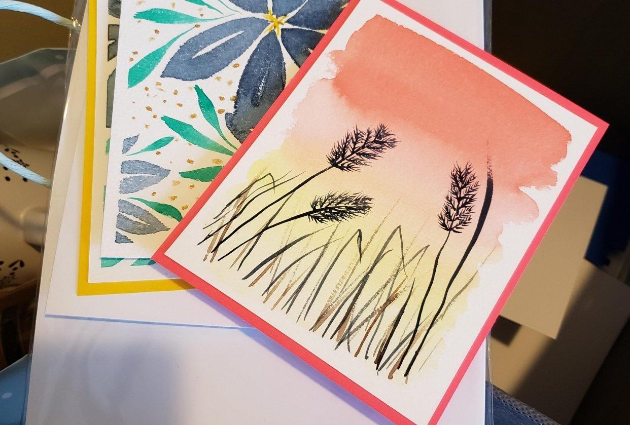 grass sillhouette - Donna Monarch - student project