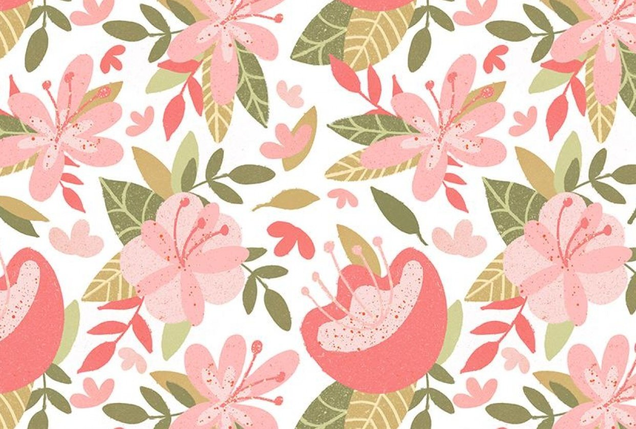 My Procreate Repeat Pattern - student project