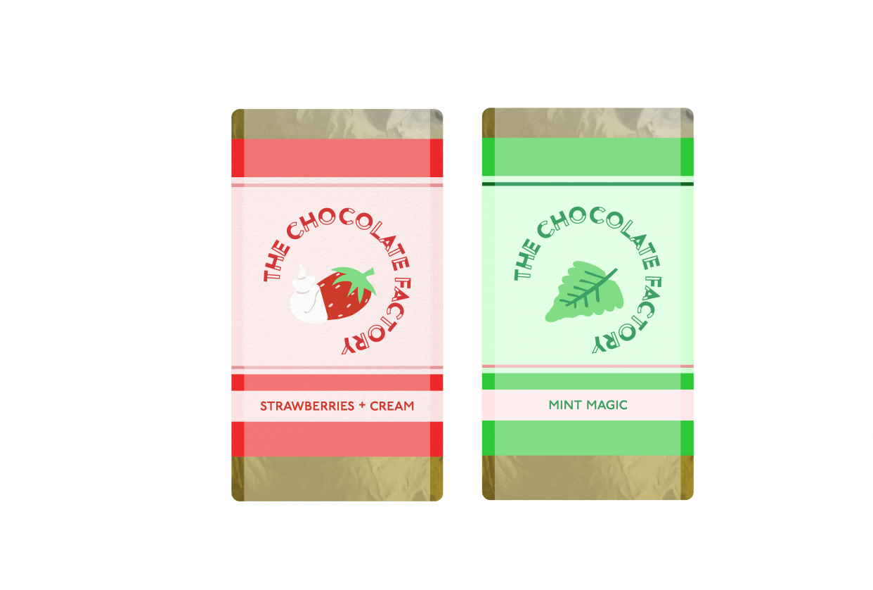 Chocolate Bars - student project
