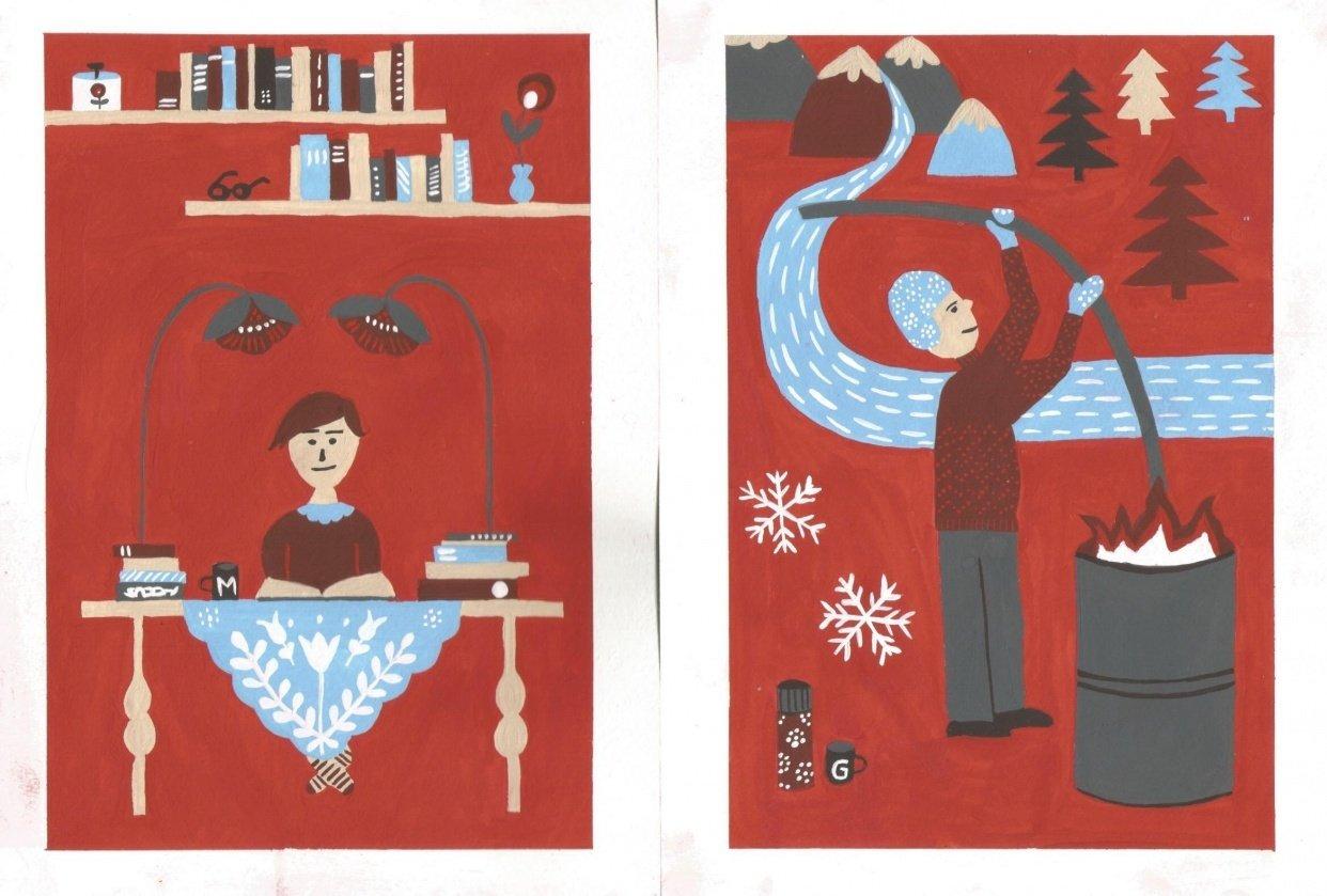 Folk Art Illustration - student project