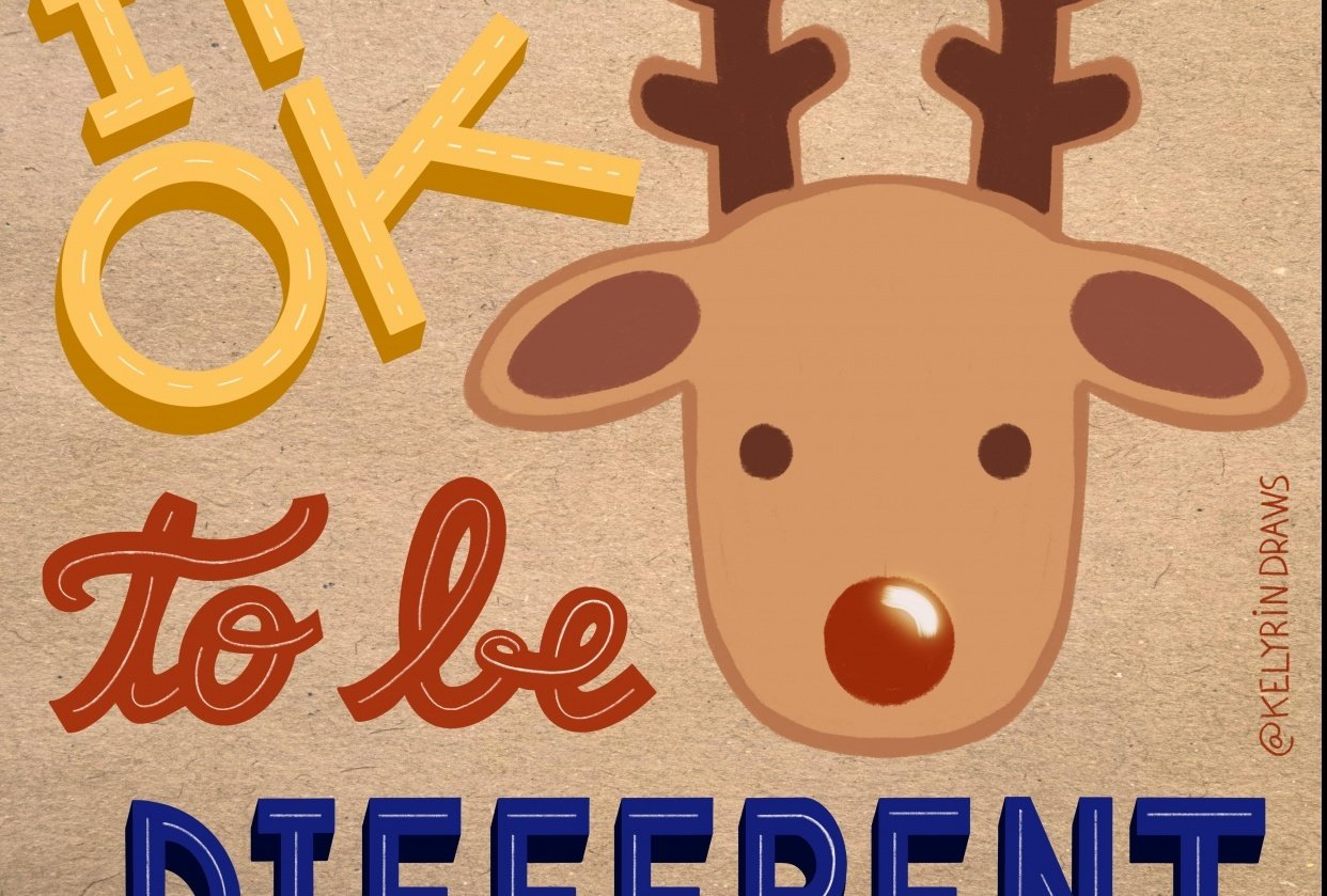 It's ok to be different ! - student project