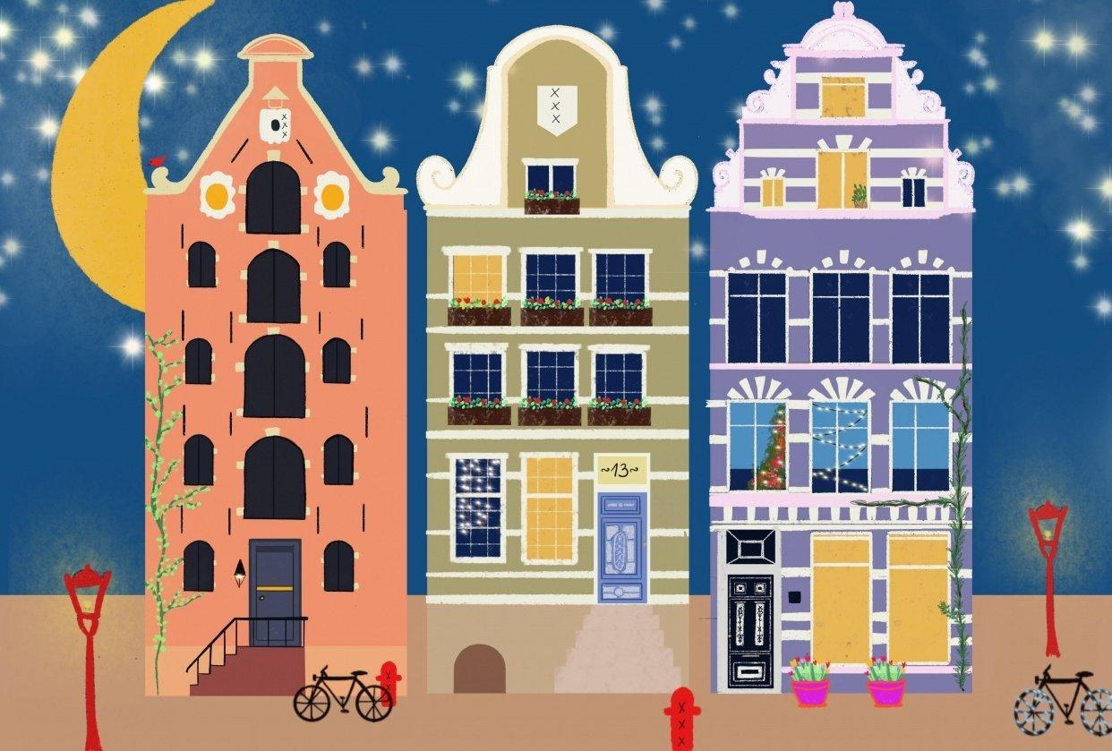 Amsterdam Xmas - student project