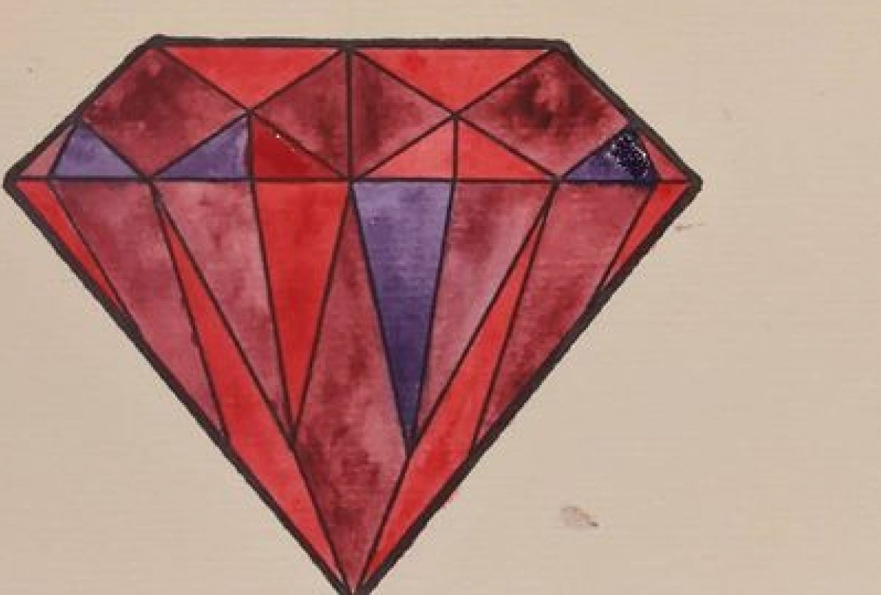 Some Diamonds and Analogous Colors - student project