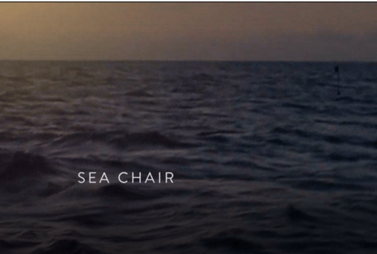 Sea Chair - student project