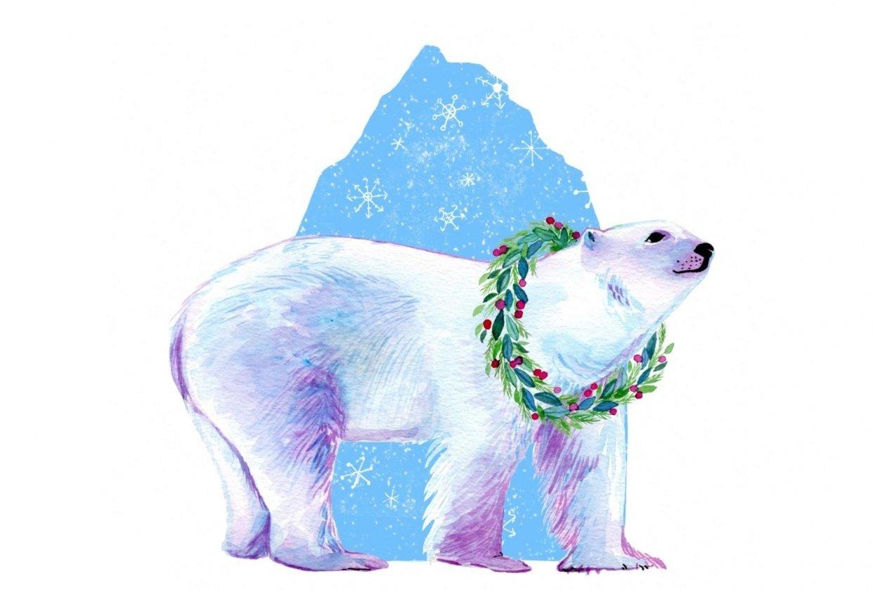 Winter Bear - student project