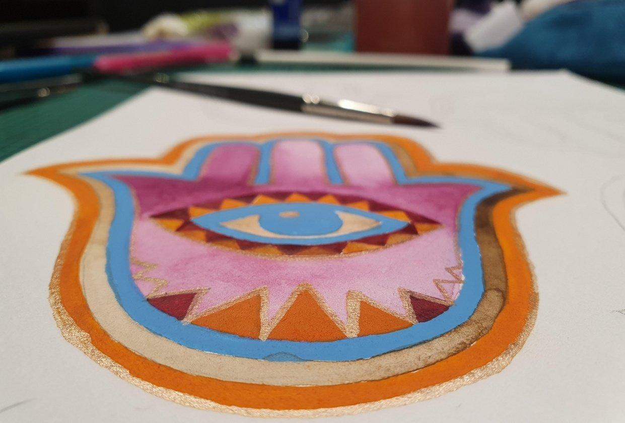 Hamsa Hands - student project