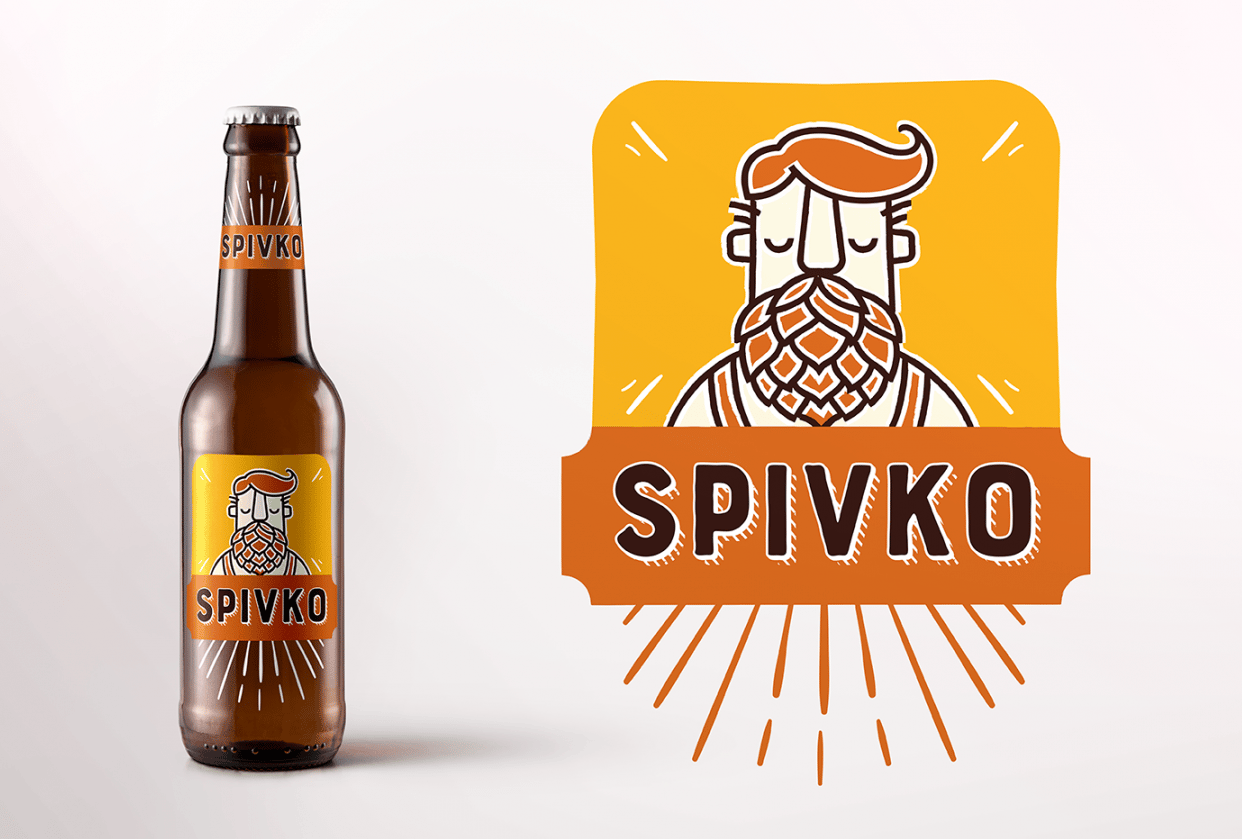 Spivko beer - student project