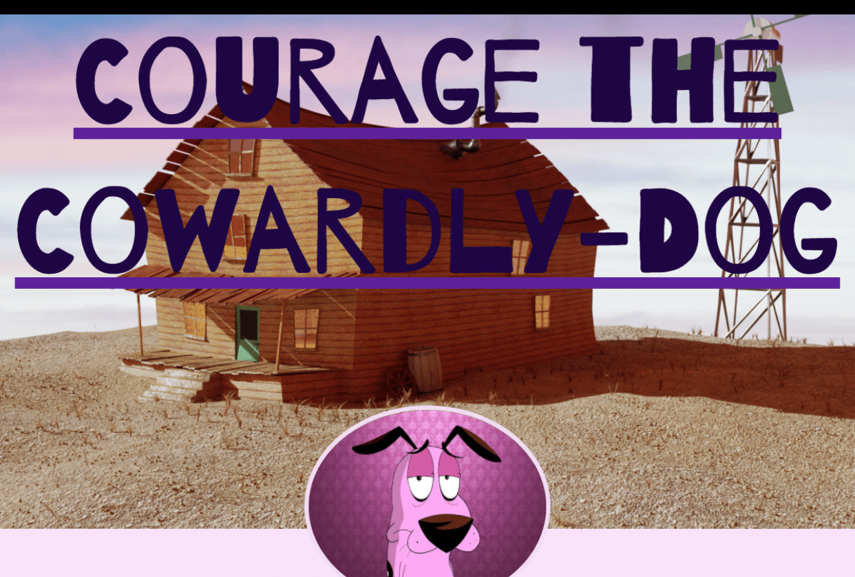 Courage the Cowardly-Dog - student project