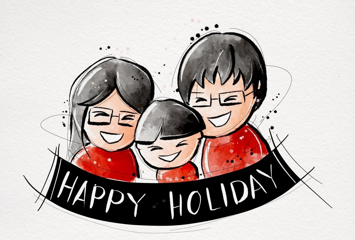 Happy holiday - student project
