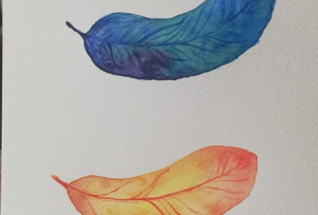 Watercolor Beginner Project - student project