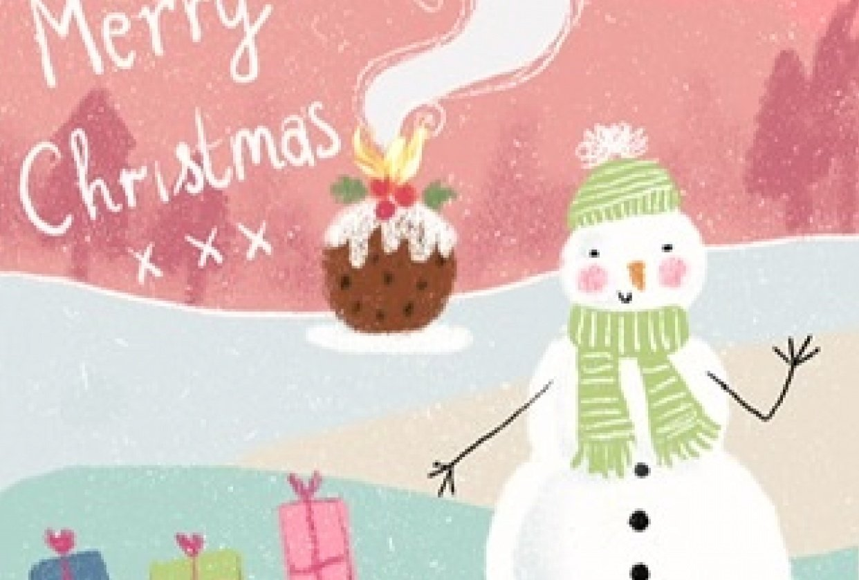 Christmas pudding - student project