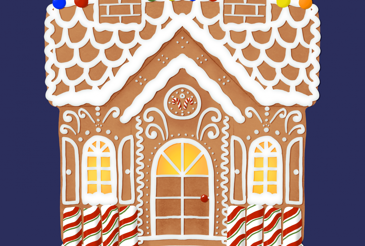 Gingerbread house - student project