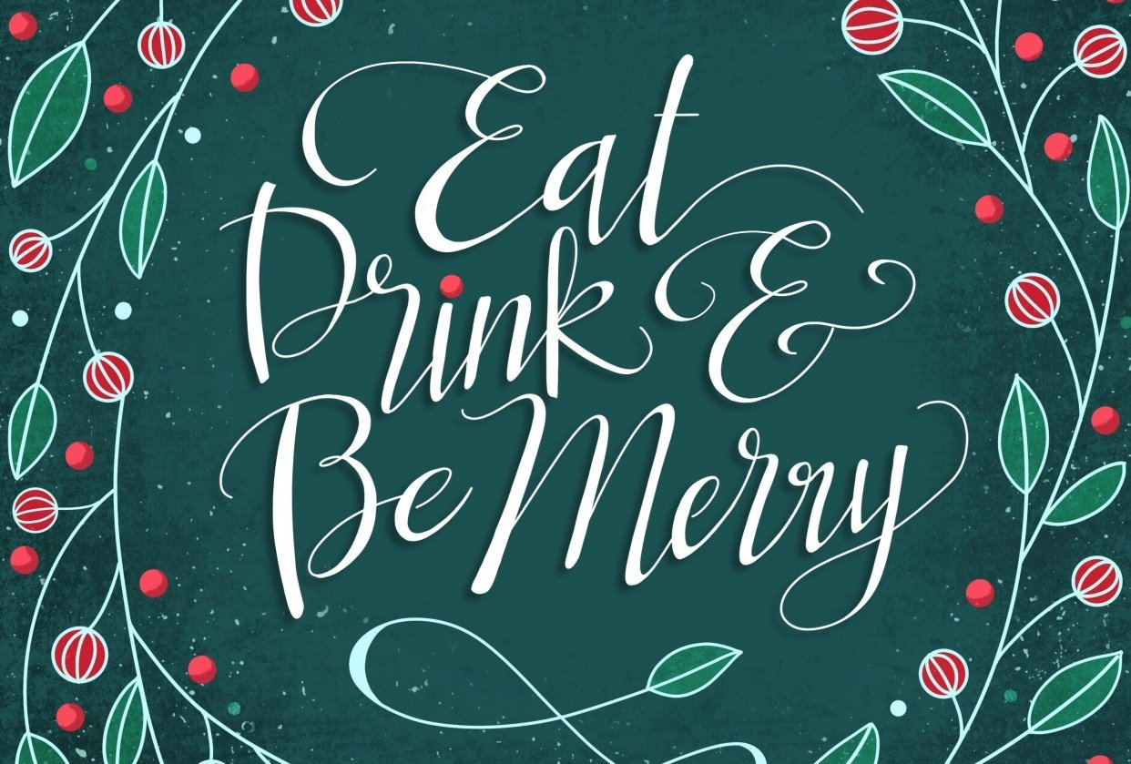 Eat, Drink & Be Merry - student project