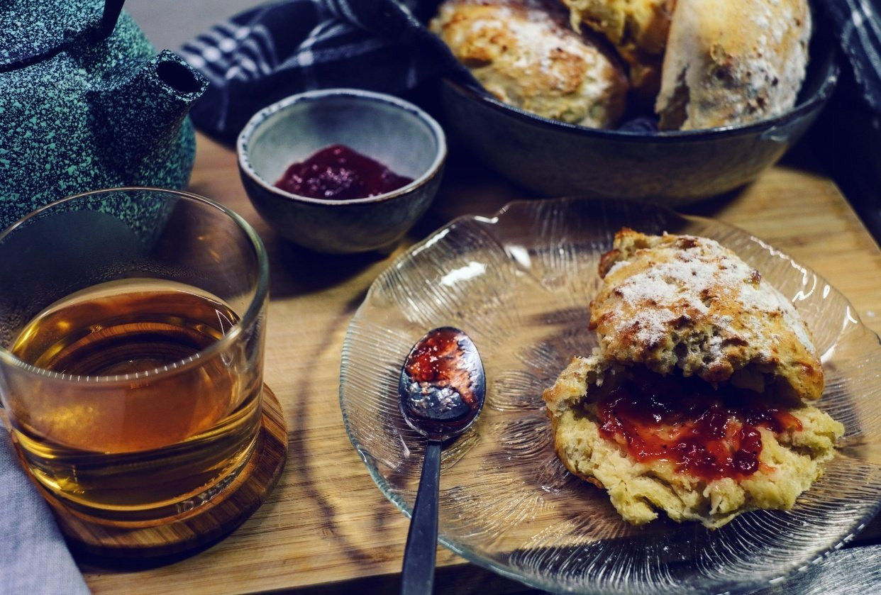 tea and scones time - student project