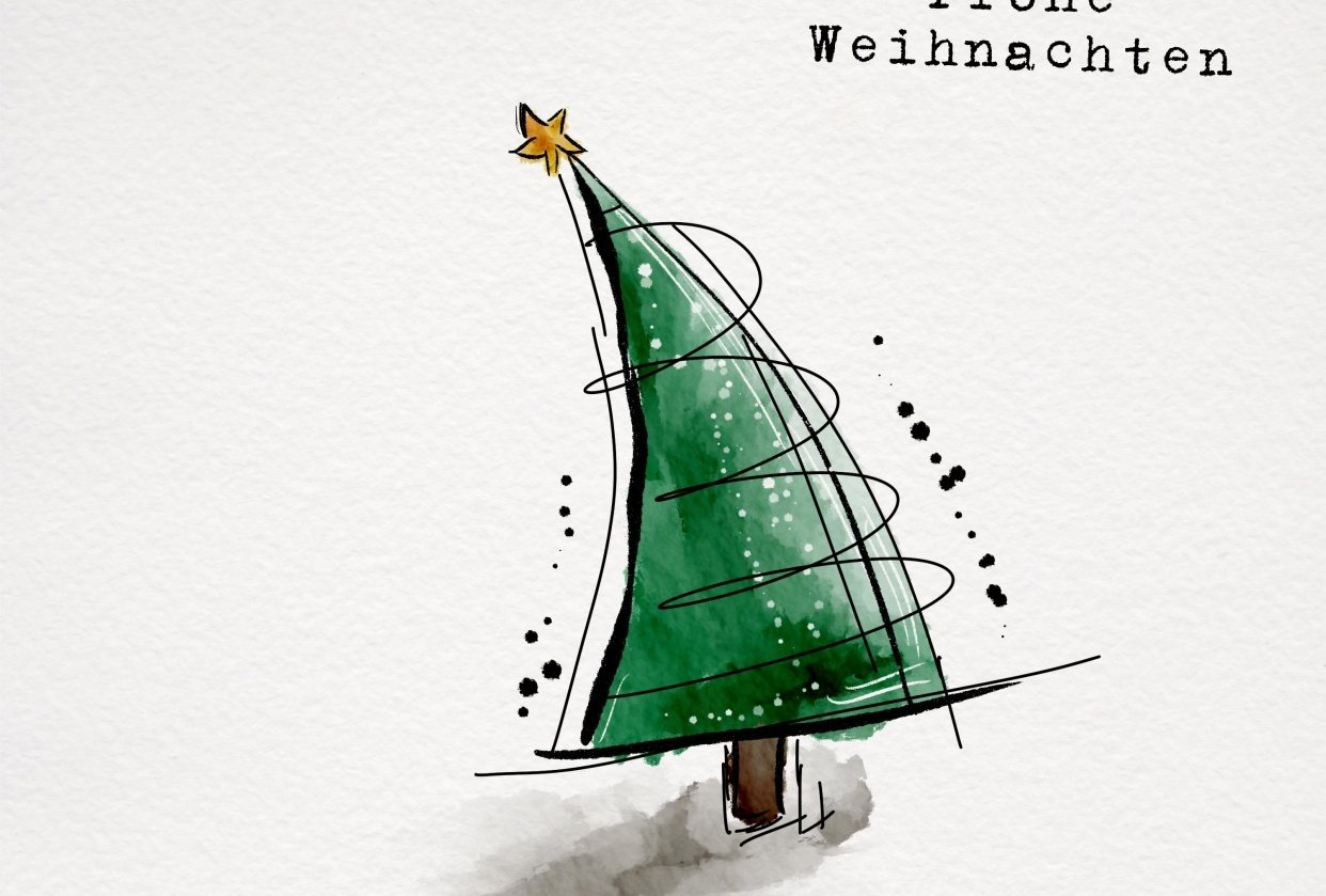 Frohe Weihnachten - student project