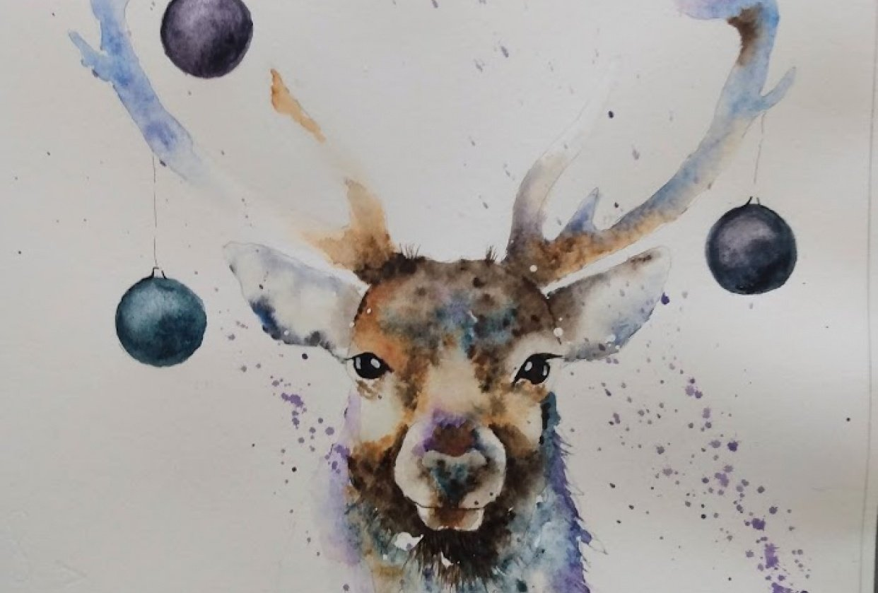 Festive Stag - student project