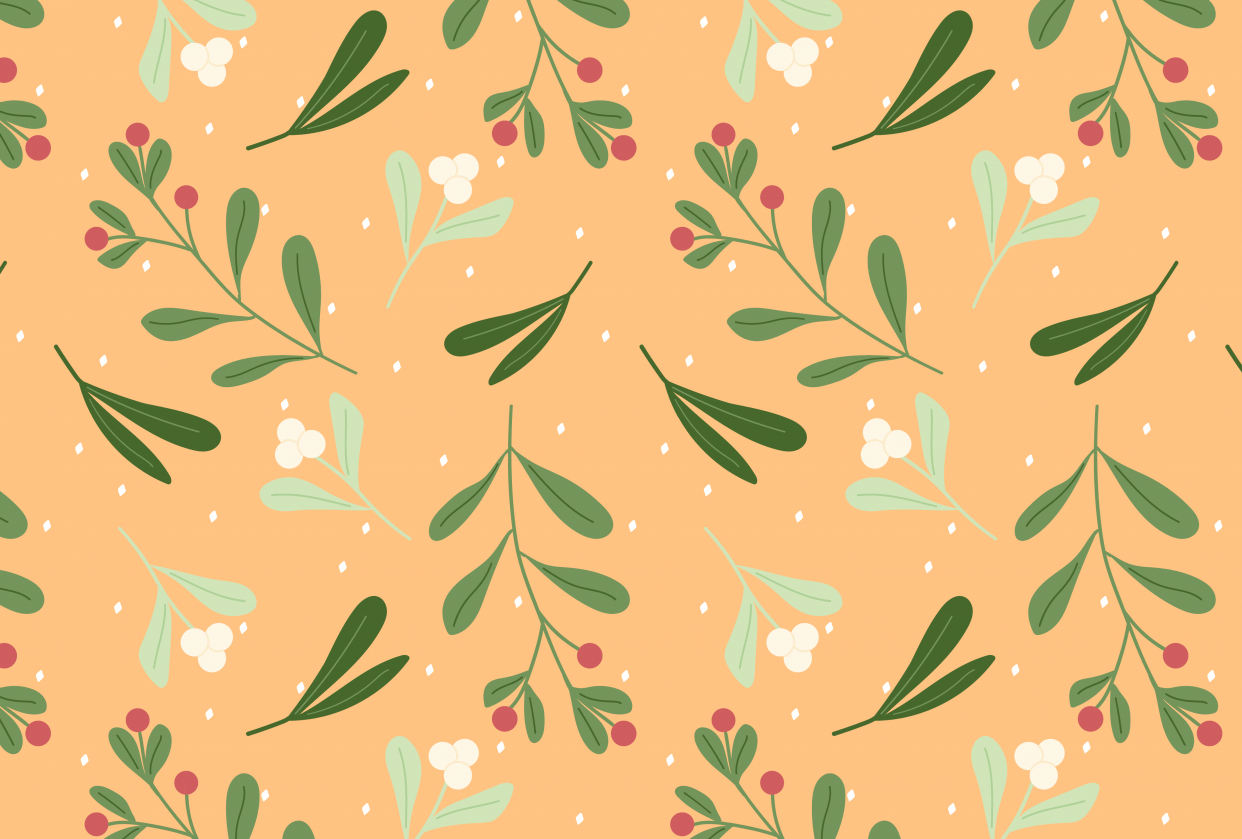Mistletoe Pattern - student project