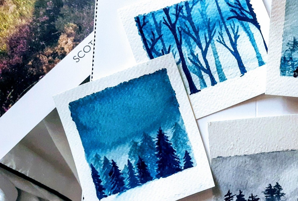 Winter forests - student project