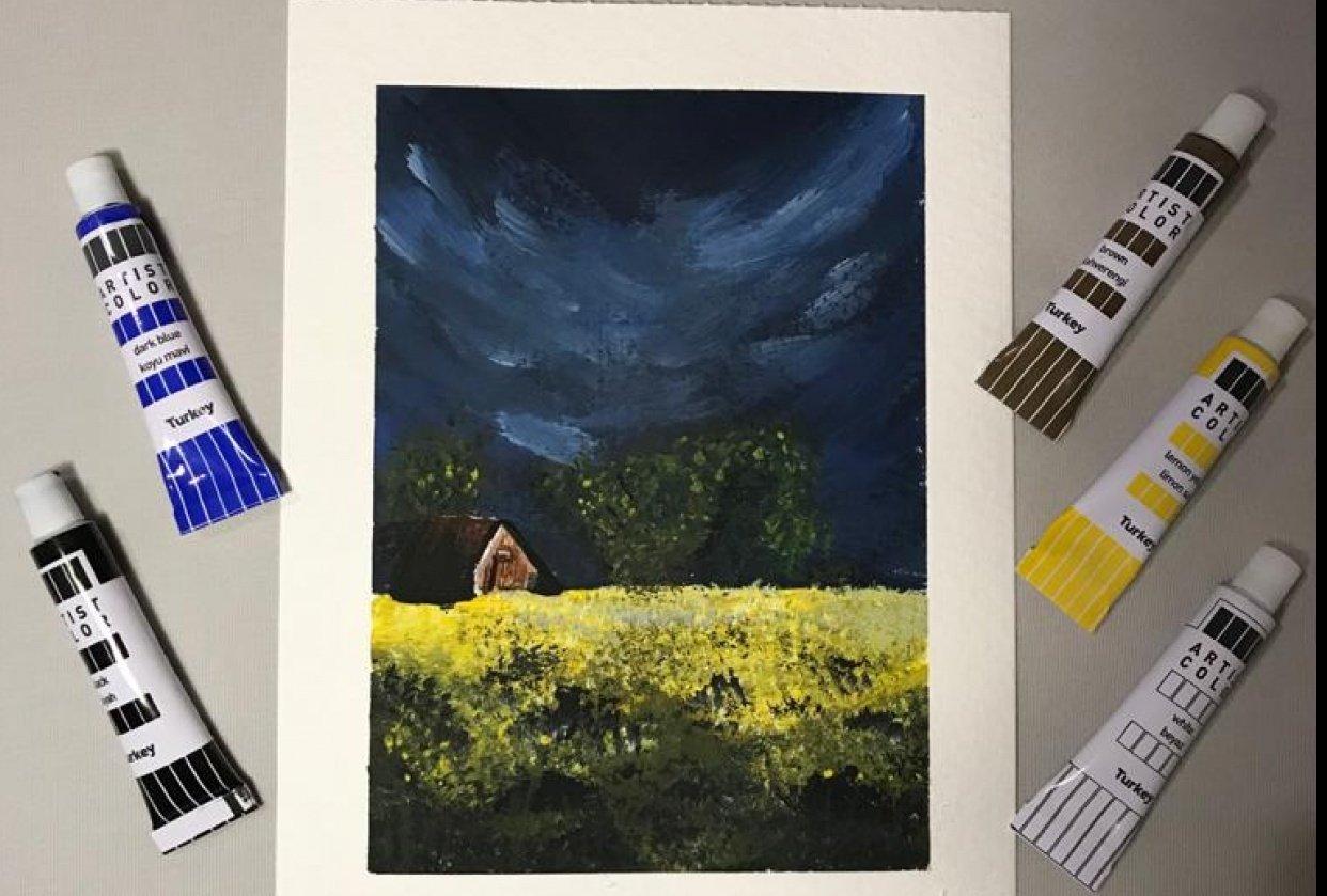 my landscape - student project