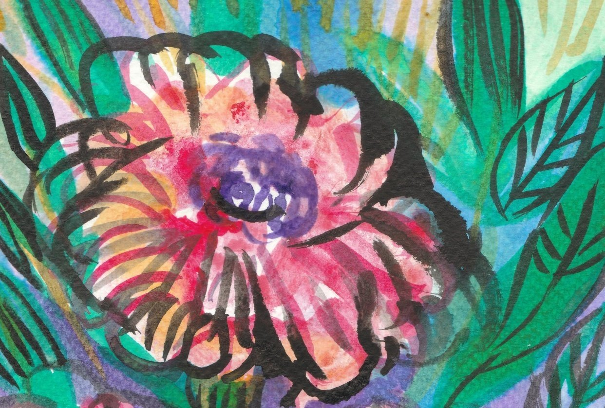INKcredible: Poppies & Landscapes - student project