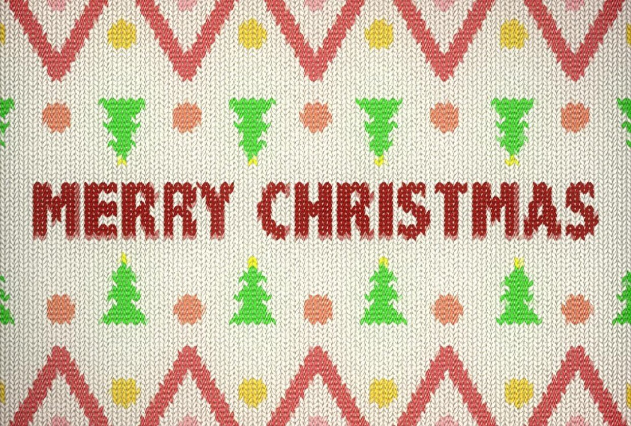 Christmas Jumper Pattern - student project