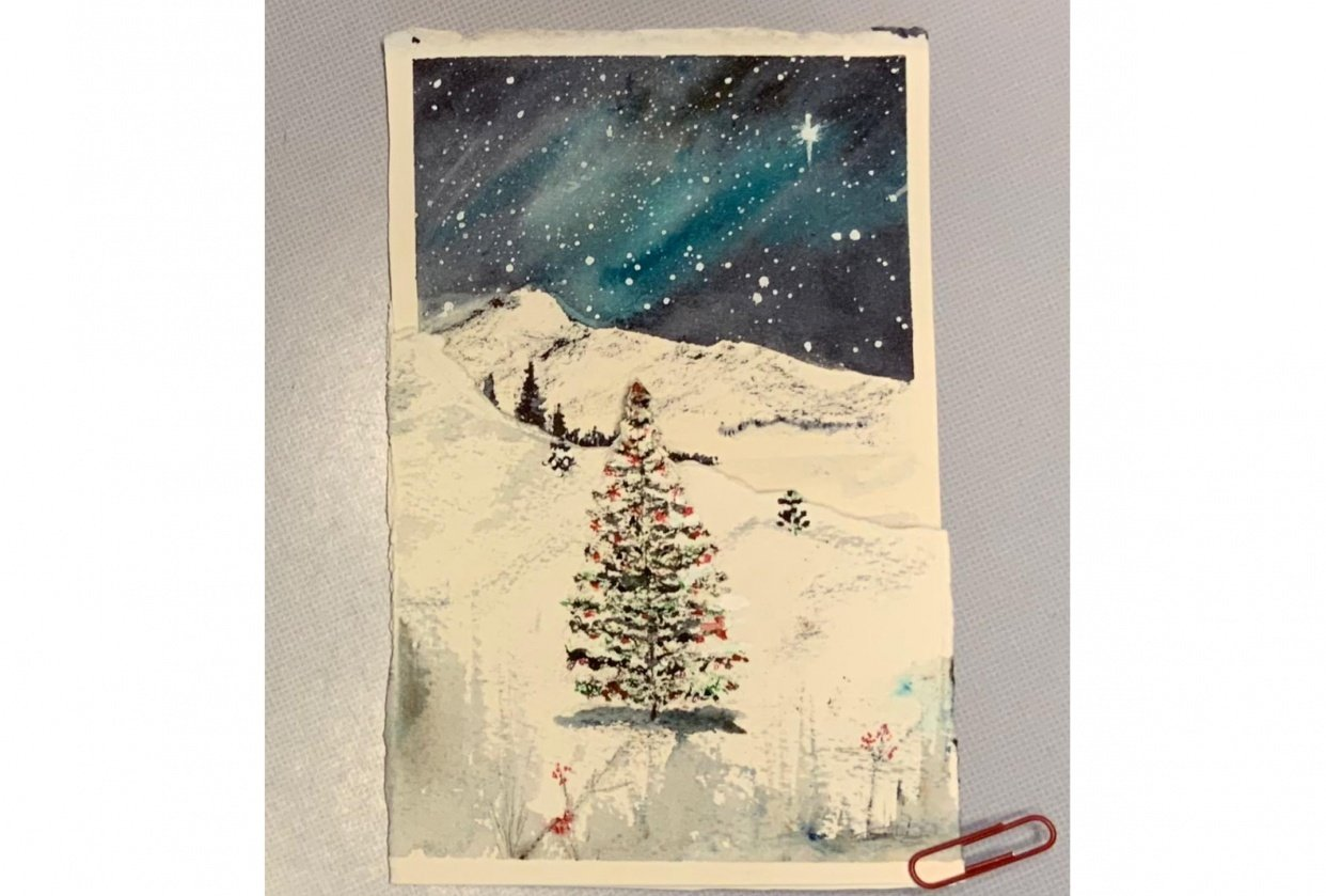 Christmas Night - student project