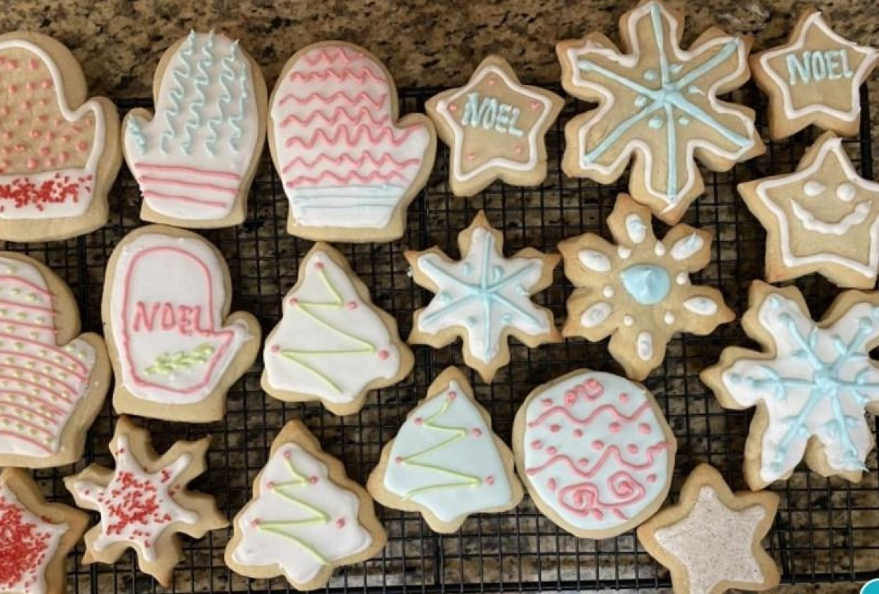 Christmas Cookies - student project
