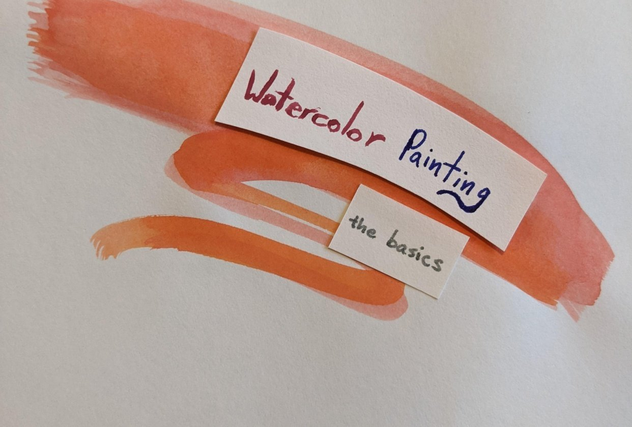 Watercolor Painting: The Basics - student project
