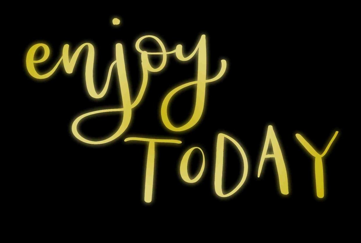 Enjoy Today - student project