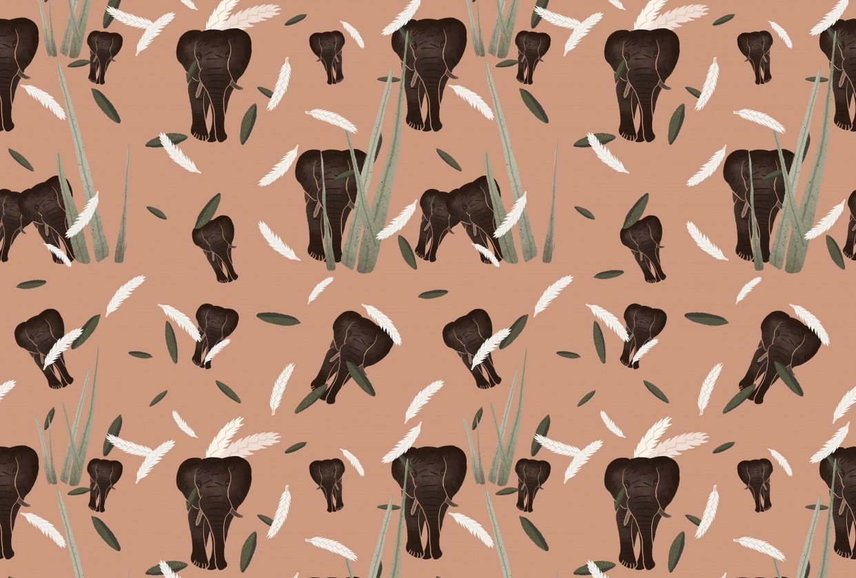 Savanna pattern - student project
