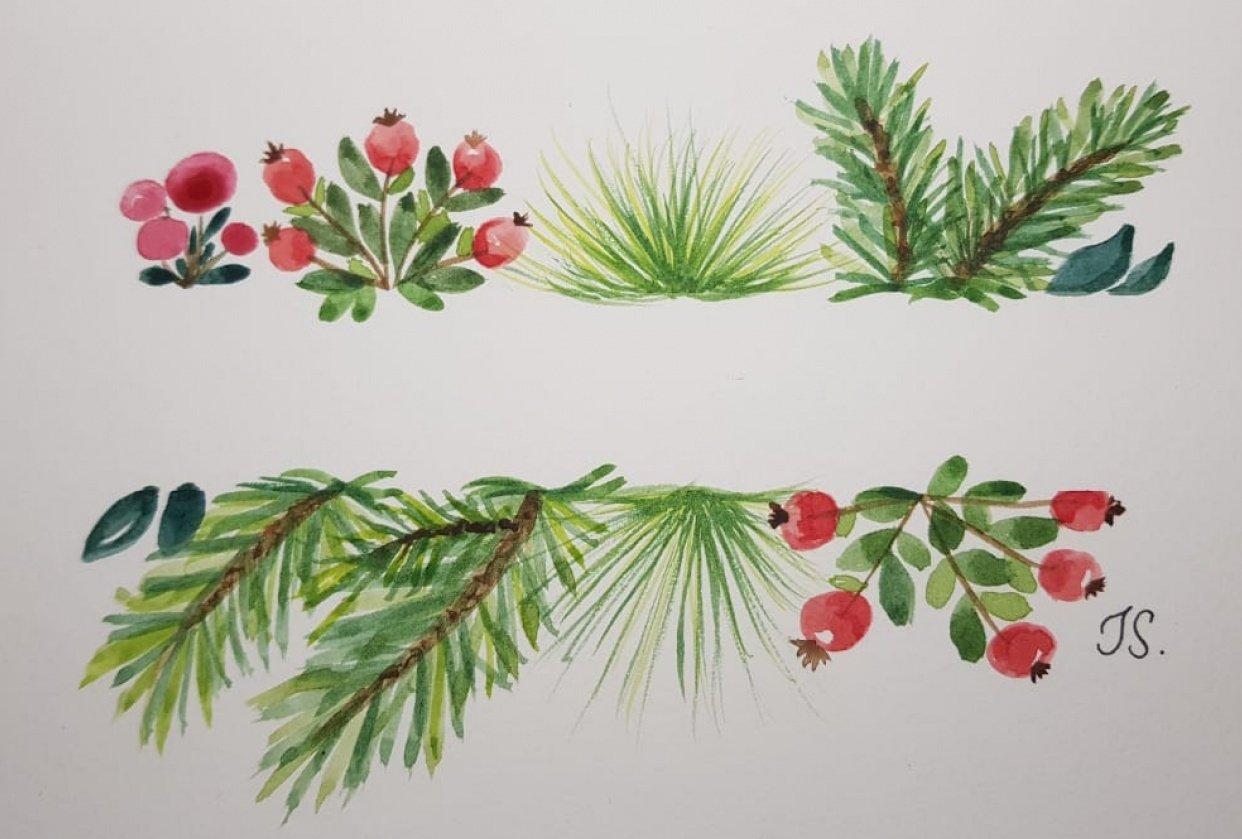 Tarjetas de Navidad - student project