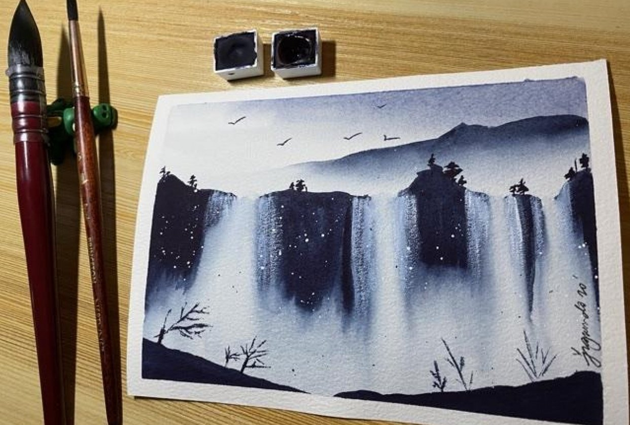 Chasing waterfalls - student project