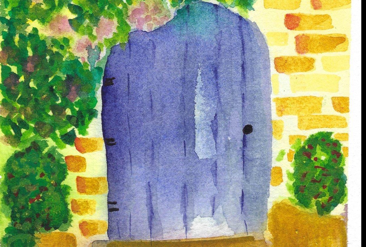 Blue Door - student project