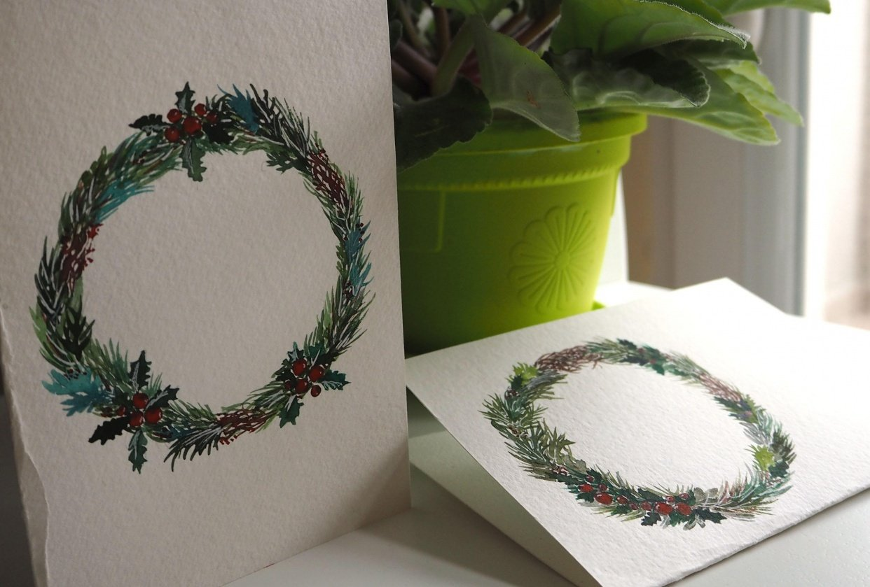 Christmas cards - student project