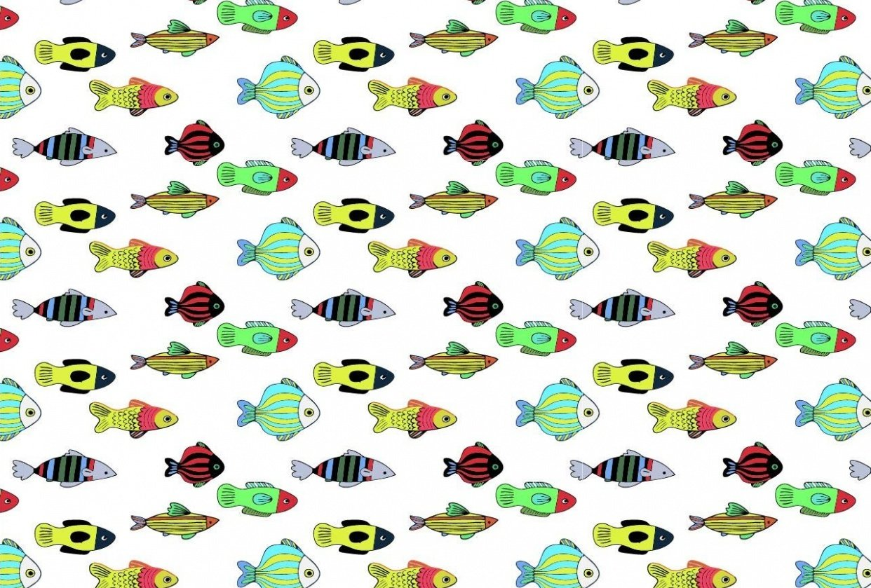Fish Pattern - student project
