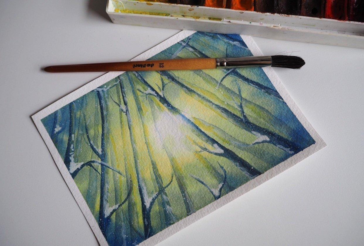 Luminous trees - student project
