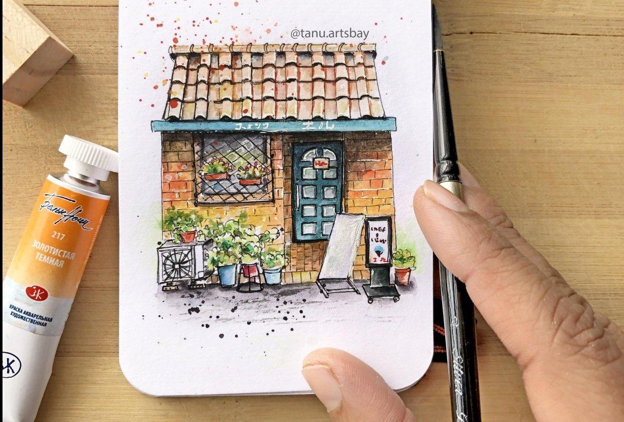 Urban illustration - student project