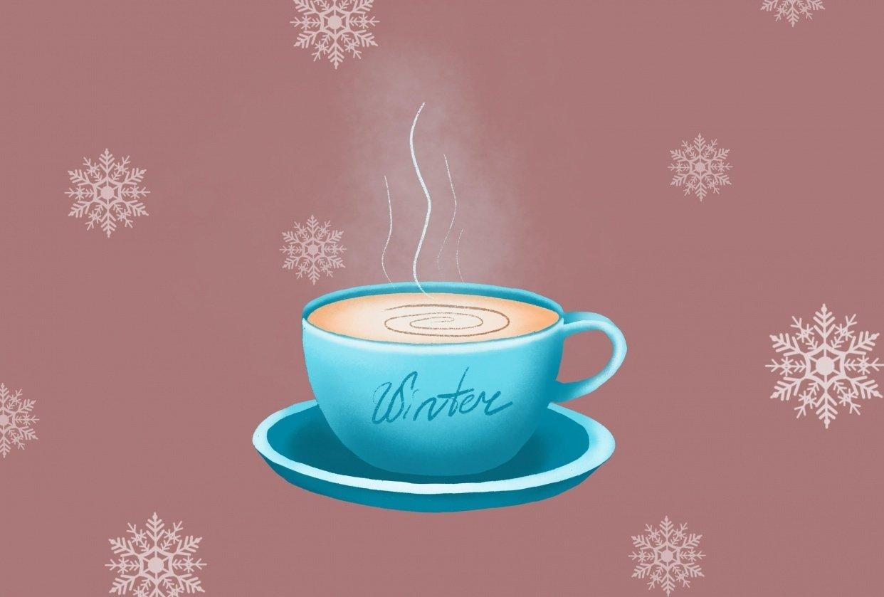 Winter mug - student project