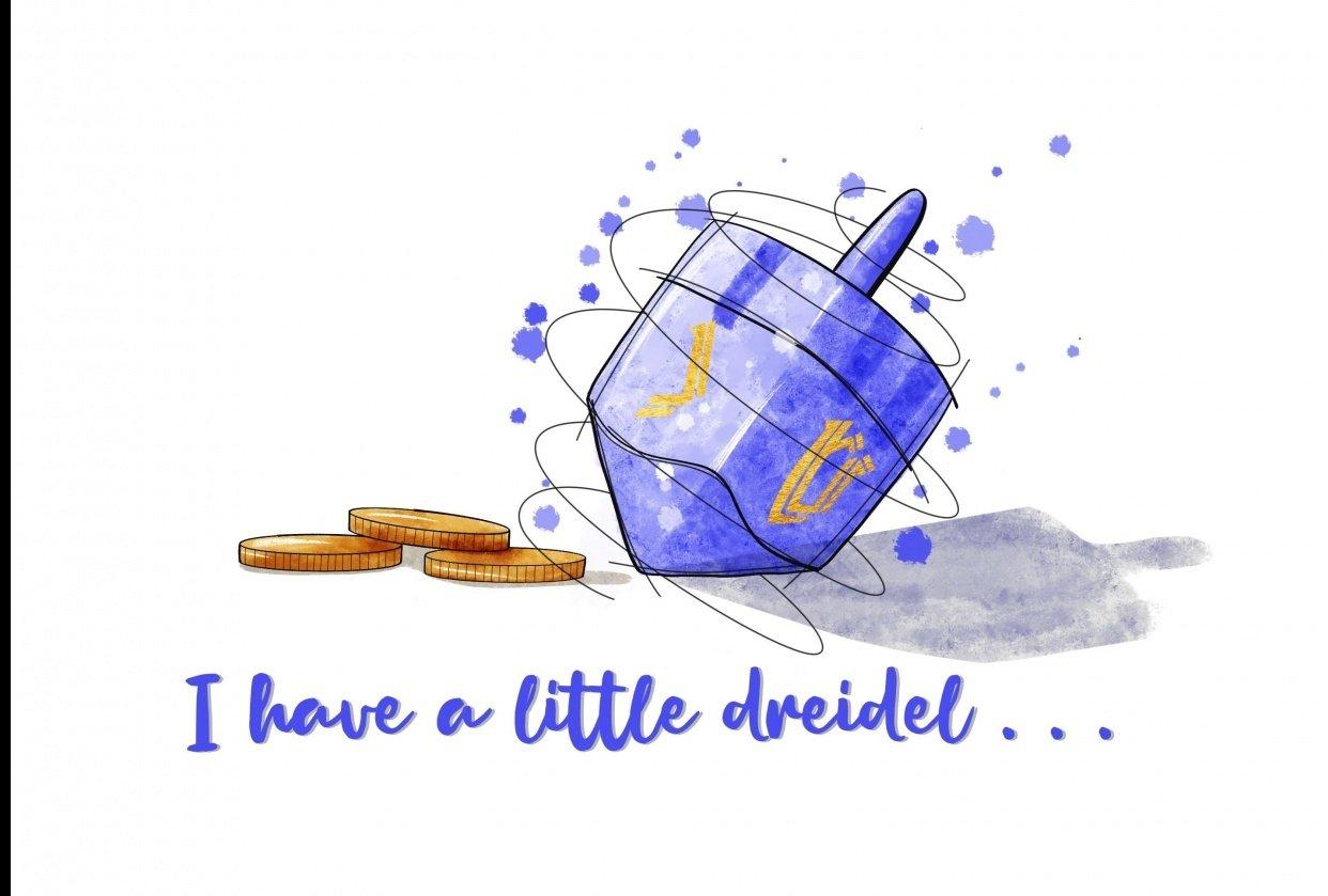 Sketchy Dreidel - student project