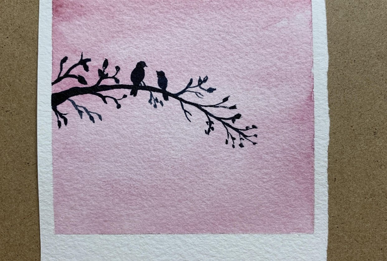 Birds on a Branch - student project
