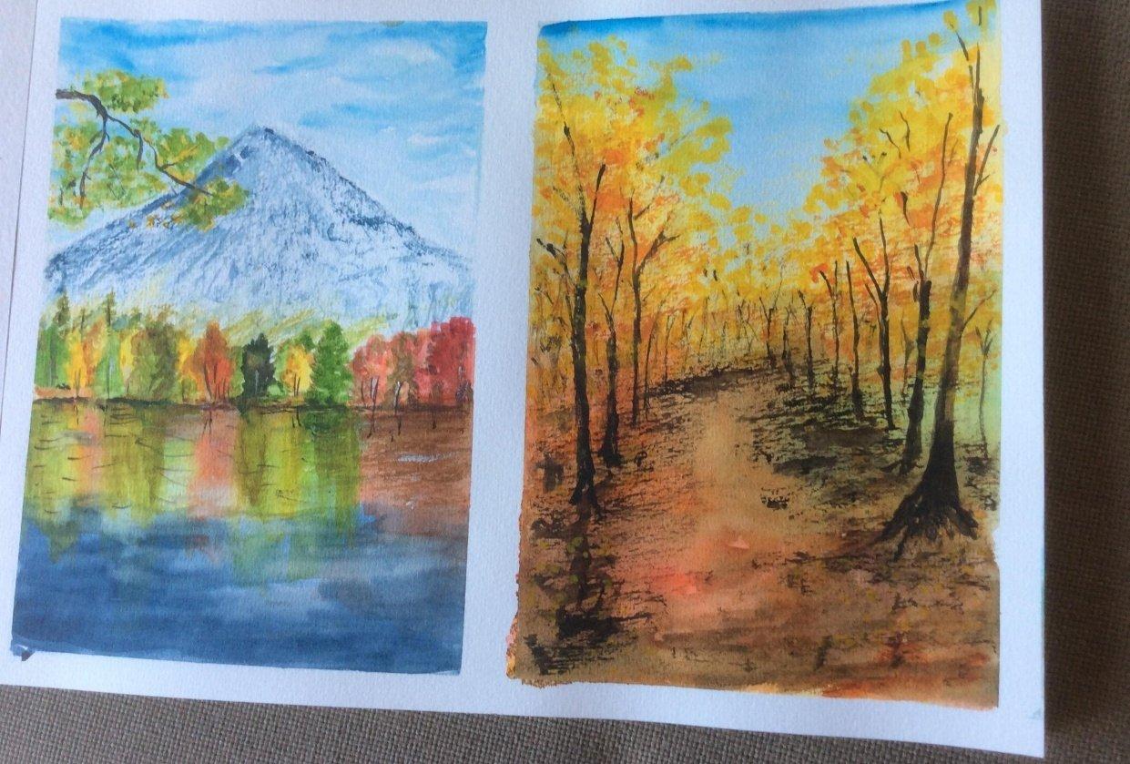Autumn landscapes - student project