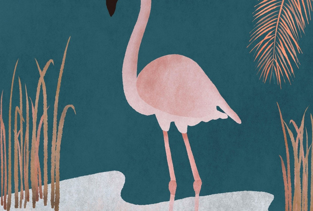 Pink Flamingo - student project