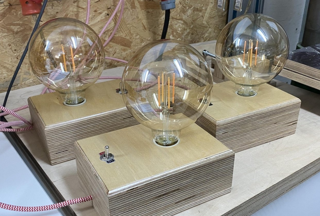 Edison lamps - student project