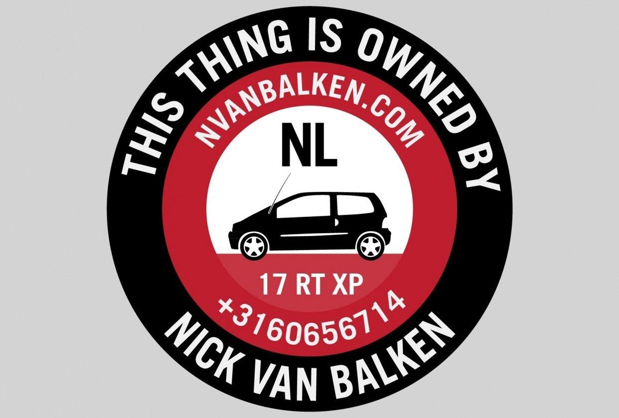 Property Tag - nvanbalken.com - student project