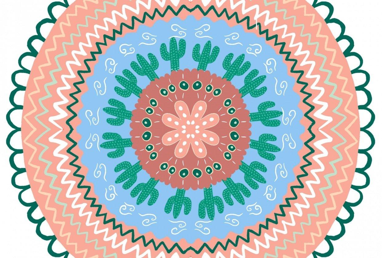 Desert Mandala - student project
