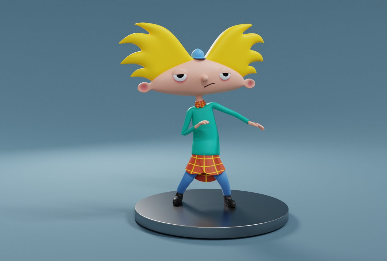 Dancing Arnold - student project