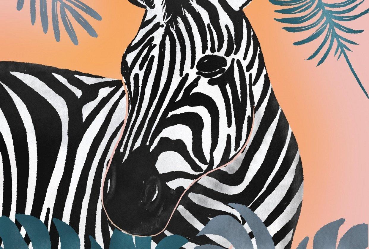 My zebra - student project