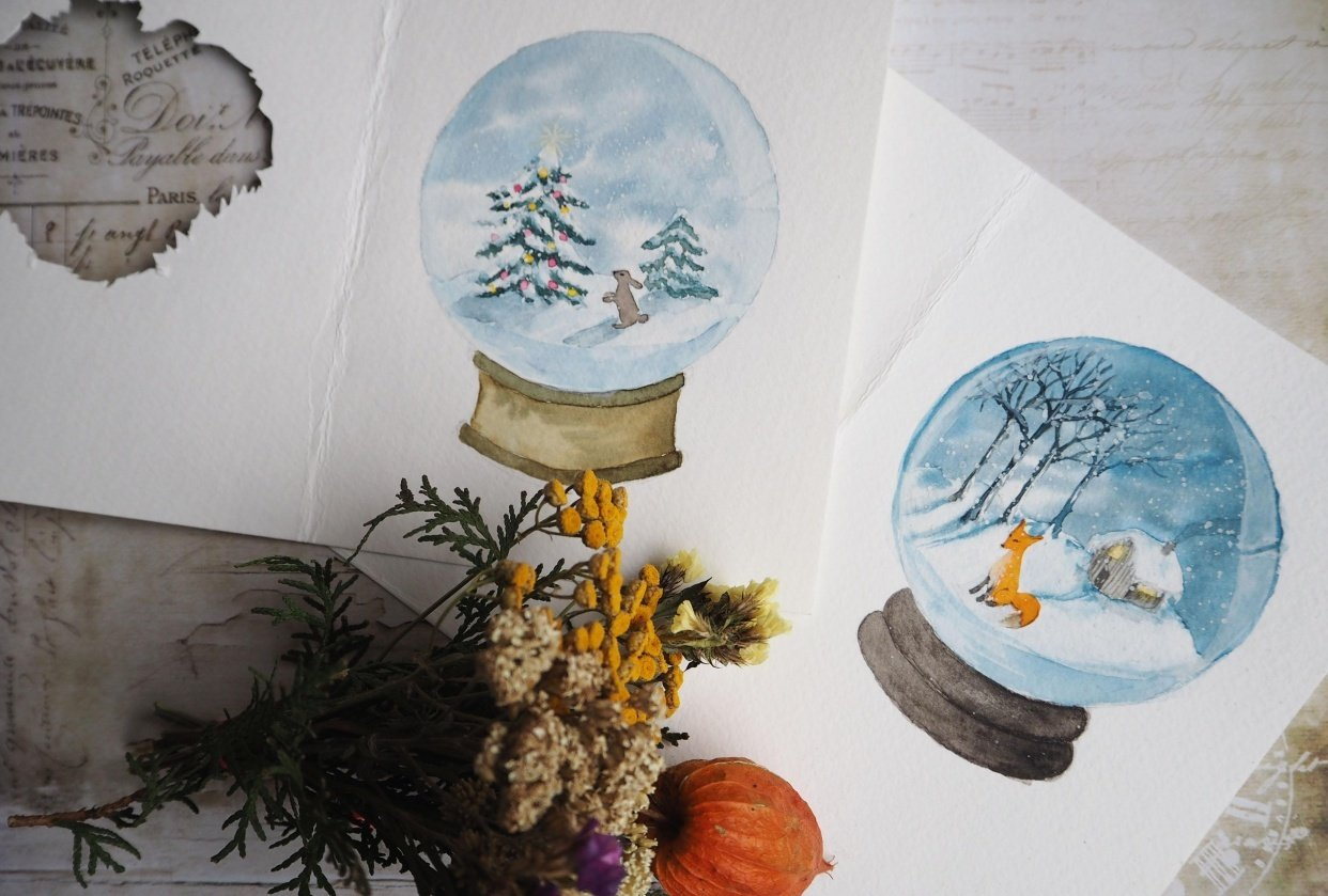 Winter wonderland - student project